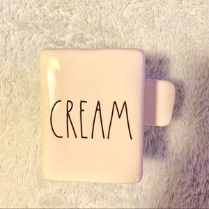 Rae Dunn cream holder